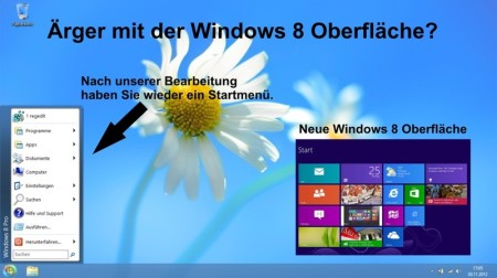 Windows 8 Startmenu Classic